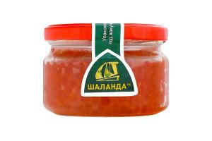 Ікра лососева зерниста солена Шаланда с/б 200г