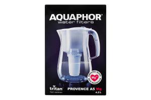Фильтр-кувшин 4.2л белый Р140А5МGFM Provence A5 Mg Aquaphor 1шт