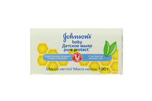 Мыло детское Pure Protect Johnson's Baby 100г