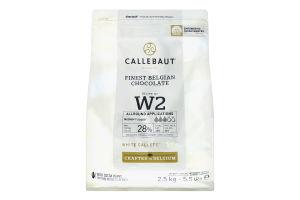 Шоколад 28% білий Callebaut м/у 2.5кг