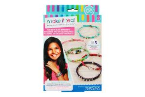 Набір для дітей від 8років для створення шарм-браслетів №MR1206 Яскрава веселка Make it Real 1шт