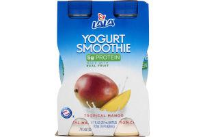 Lala Yogurt Smoothie Tropical Mango - 4 CT