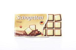 Шоколад Trumpf Schogetten трилогия 100г