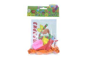 Шарте набір кульки надувні з сюрпризом 775211