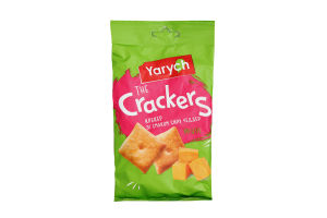 Крекер зі смаком сиру Чеддер Yarych м/у 80г