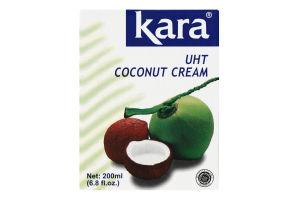 Сливки 24-26% кокосовые ультрапастеризованные Kara т/п 200мл
