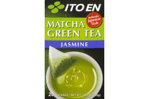 Ito En Matcha Green Tea Jasmine Tea Bags - 20 CT