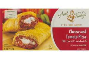 Aunt Trudy's Cheese and Tomato Pizza
