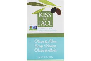 Kiss My Face Olive & Aloe Soap