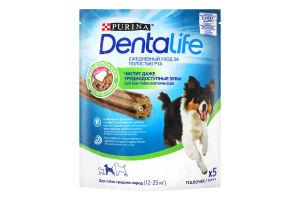 Ласощі для дорослих собак середніх порід DentaLife Purina д/п 115г