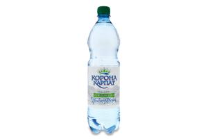 Вода питна природна слабогазована Корона Карпат п/пл 1л