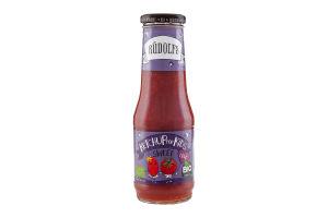 Кетчуп Rudolfs оранічний для дітей томатний 320г х6