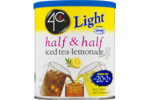 4C Light Half & Half Iced Tea Lemonade Mix