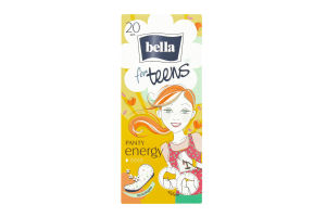 Прокладки for Teens Energy deo щоденні Bella 20шт
