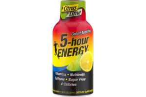 5-Hour Energy Citrus Lime