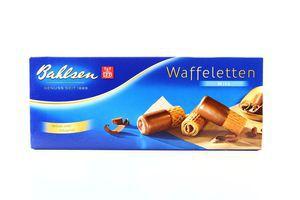 Печенье в молочном шоколаде Waffeletten Bahlsen 100г