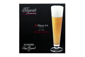 Н-р бок/д/пива Luigi Bormioli Elegante 500мл 6шт