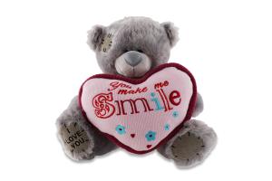 Игрушка мягкая Медведь с сердцем в ассортим Y*-1