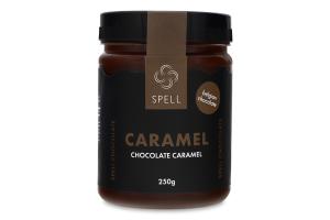 Паста кондитерська Карамель шоколадна Spell с/б 250г
