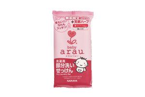 Кускове мило для прання дитячого одягу Arau Baby Spot Wash Laundry Bar 110 гр