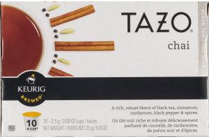 Tazo Chai Black Tea K-Cups - 10 CT