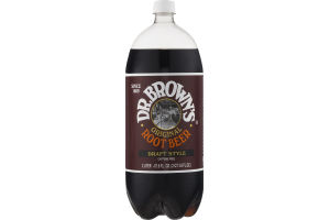 Dr. Brown's Original Root Beer Draft Style