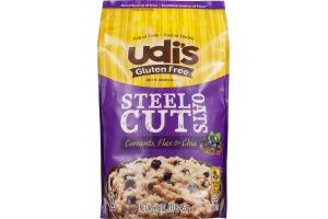 Udi's Gluten Free Steel Cut Oats Currants, Flax & Chia