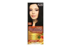 Крем-краска для волос №142 Черный шоколад Рябина Avena Acme Color 1шт