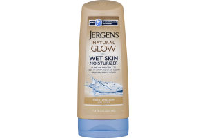 Jergens Natural Glow Wet Skin Moisturizer Fair To Medium Skin Tones