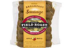 Field Roast Grain Meat Co. Vegan Breakfast Sausage Apple Maple