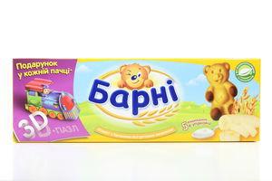 Бисквит медвежонок Барни с бананово-йогуртовой начинкой Kraft к/у 150г