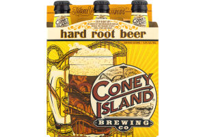 Coney Island Brewing Co. Hard Root Beer - 6 PK