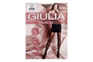 Колготки жіночі Giulia Relax 50den 4-L daino