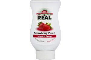 Strawberry Re'al Infused Syrup Strawberry Puree