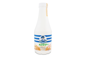 Кефір 2.4% Злаки-льон Простоквашино п/пл 750г