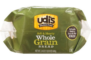 Udi's Gluten Free Soft & Hearty Whole Grain Bread