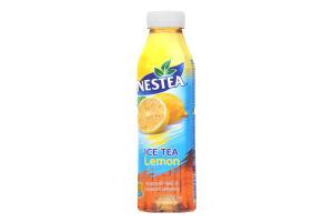 Холодний чорний чай зі смаком лимону Nestea Ice Tea PET 0,5л
