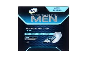 TENA Уролог. прокладки for Men Level 1, 12 шт
