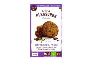 Печенье Little Pleasures с шокол крошками-овсянкой