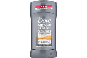 Dove Men + Care Elements Antiperspirant Mineral Powder + Sandalwood