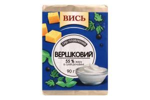 Сыр плавленый 55% Сливочный Вись м/у 90г