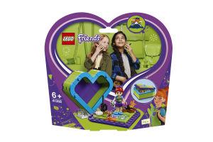Конструктор Коробка-серце з Мією41358