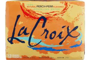 La Croix Peach-Pear Sparkling Water - 12 PK