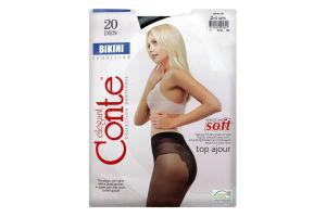 Колготки Conte Bikini 20den 2 Nero