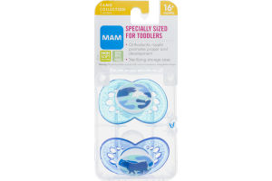 MAM Camo Collection Pacifiers 16+months - 2CT