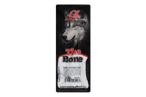 Ласощі для собак 2 половинки Кістка цукрова Alpha Spirit м/у 1шт