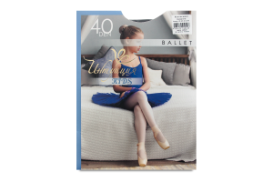 Колготки детские Интуиция Ballet 40 black р140-146