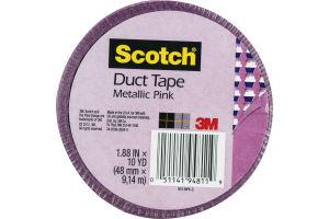 Scotch Duct Tape Metallic Pink