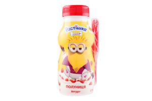 Йогурт 1.5% Полуниця Растішка п/пл 185г