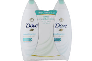 Dove Sensitive Skin Nourishing Body Wash 2 Ct Dove 11111536753 Customers Reviews Listex Online